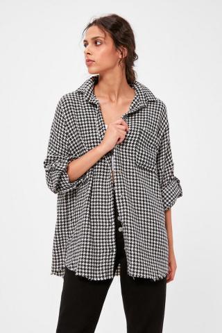 Trendyol Cassiegas - Shirt dámské Black 34