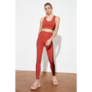 Trendyol Cinnamon Color Block Sports Tights XS