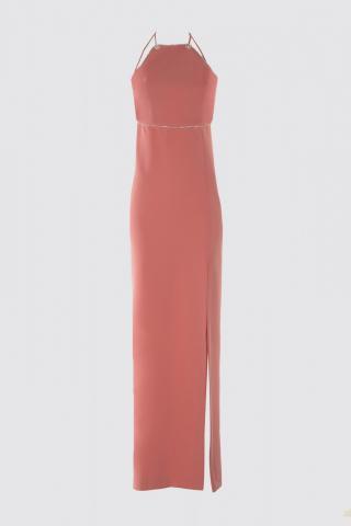 Trendyol Evening Dress & Graduation Dress with Pink Stone Accessory dámské 34