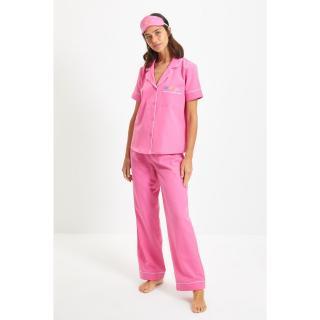 Trendyol Fuchsia Sleep Band Woven Pajamas Set dámské Other 36