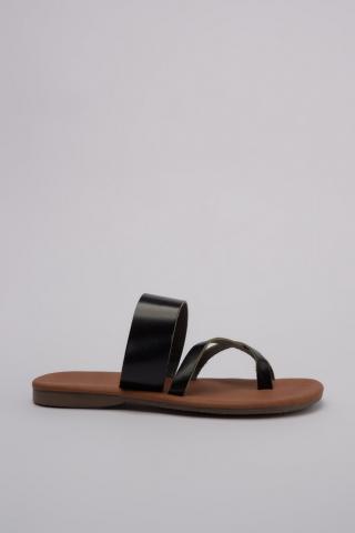 Trendyol Genuine Leather Black Womens SlippertakS20TE0092 dámské 36