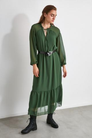 Trendyol Green Arch dress dámské 34