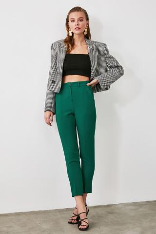 Trendyol Green Cigarette Pants dámské 36
