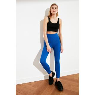 Trendyol Indigo Scuba Knitted Tights dámské XS