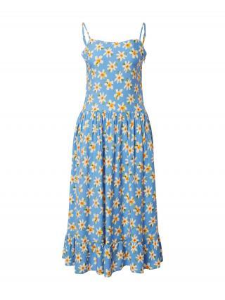Trendyol Letné šaty  dymovo modrá / žltá / zelená / oranžová dámské 34