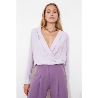 Trendyol Lila Cruise Blouse dámské Lilac 34