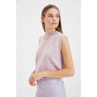 Trendyol Lilac Crew Neck Knitwear Sweater dámské Other S
