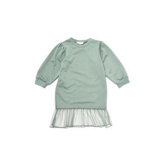 Trendyol Mint Tulle Garnish Girl Knitted Dress dámské Other 6-7 Y
