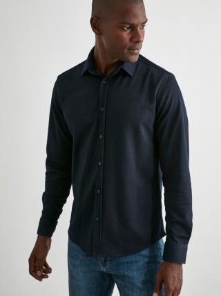 Trendyol modré pánska košeľa - S pánské modrá S