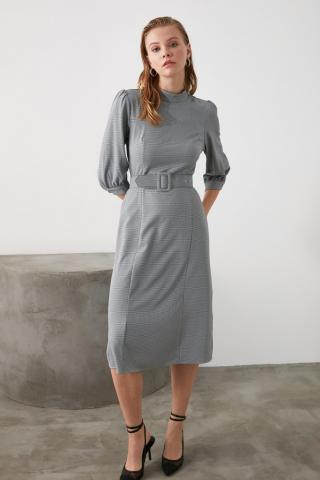 Trendyol Multi-Color Belt Dress dámské 34