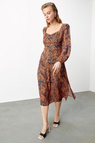 Trendyol Multi-Color Patterned Dress dámské 34