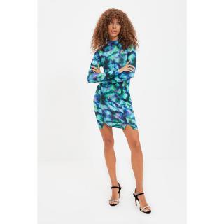 Trendyol Multi Color Tie Dye Printed Dress dámské Other 34