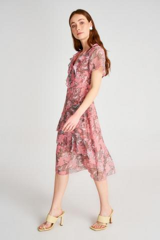 Trendyol Multi-Color Volli Dress dámské 34