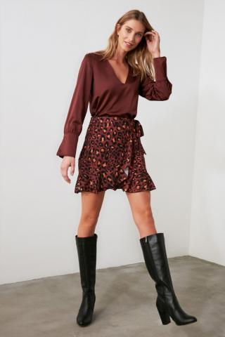 Trendyol Multicolor Flywheel Skirt dámské 38