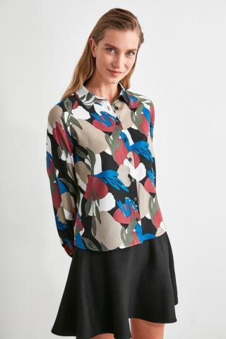 Trendyol Multicolor Printed Shirt dámské 34