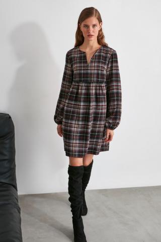 Trendyol MultiColor Wide Cut Dress dámské 34