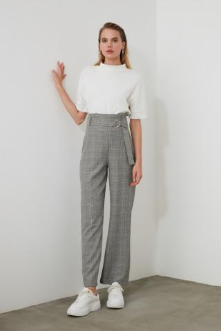 Trendyol MultiColored Baggy Leg Pants dámské 36