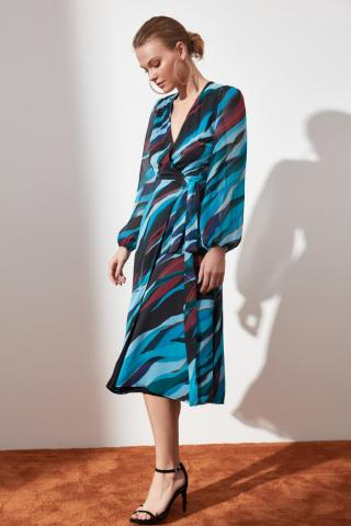 Trendyol Multicolored Binding Detailed Dress dámské 34