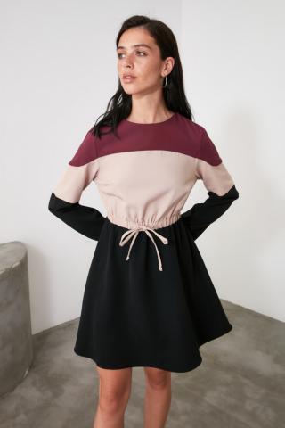 Trendyol Multicolored Fastening Detailed Dress dámské 34
