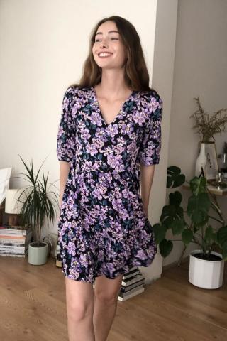 Trendyol MultiColored Floral Dress dámské 34