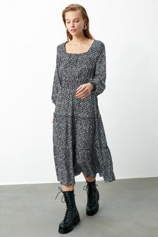 Trendyol MultiColored Floral Dress dámské 42