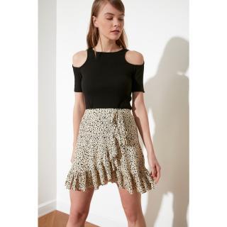 Trendyol Multicolored Flywheet Knitted Skirt dámské XS