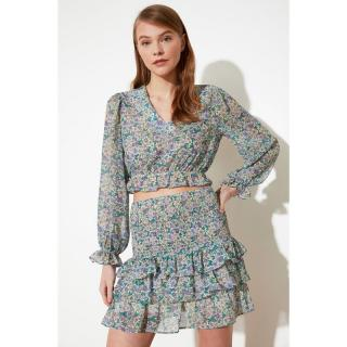 Trendyol Multicolored Gipeli Skirt dámské 34