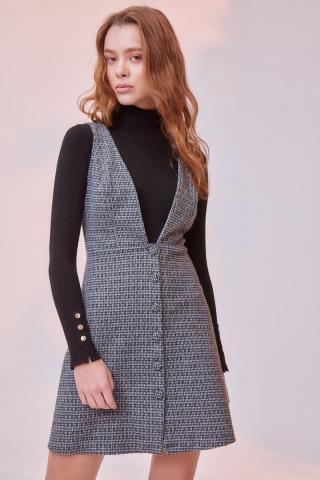 Trendyol Multicolored Knitted Dress dámské XS