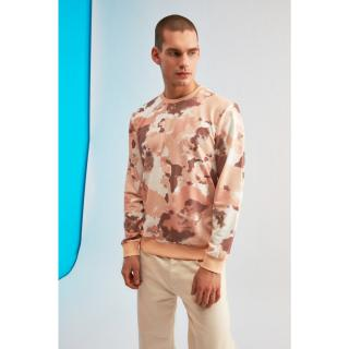 Trendyol MulticolorEd Male Batik Sweatshirt S
