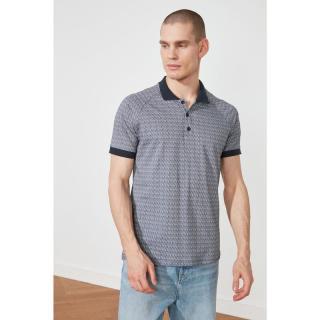 Trendyol Multicolored Men Slim Fit Polo Neck Short Sleeve Polo Neck T-shirt pánské S