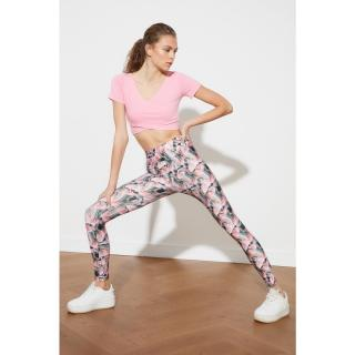 Trendyol Multicolored Patterned Sports Tights S
