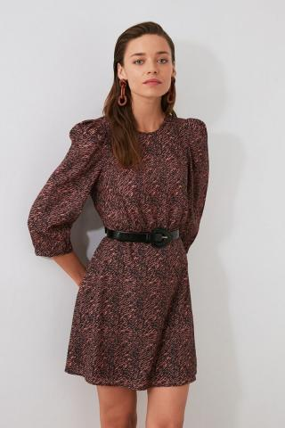 Trendyol Multicolored Sleeve Detailed Dress dámské 34