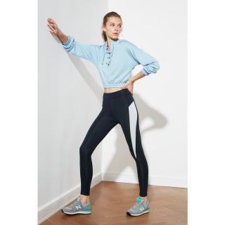 Trendyol Navy Blue High Waist Sports Tights XS