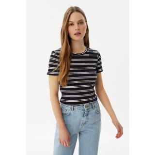 Trendyol Navy Blue Knitted Blouse dámské S