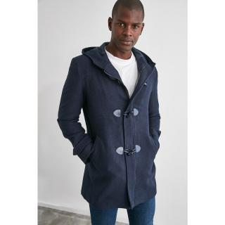 Trendyol Navy Blue Mens Coat pánské S