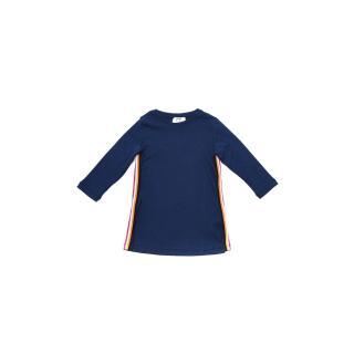 Trendyol Navy Blue Striped Girl Knitted Dress dámské Other 6-7 Y