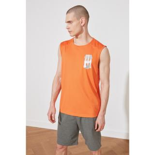 Trendyol Orange Male Oversize Fit Zero Arm Athlete S
