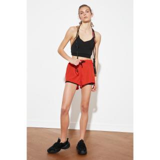 Trendyol Orange Sports Knitted Shorts & Bermuda dámské XS