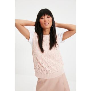 Trendyol Powder Knitted Detailed Knitwear Sweater dámské Other M