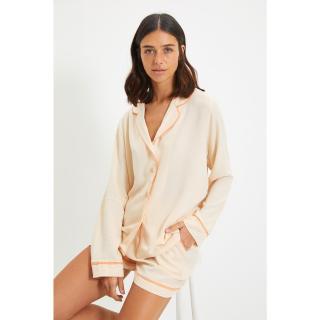 Trendyol Powder Woven Pajamas Set dámské Other 44