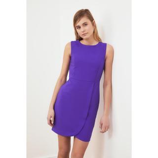 Trendyol Purple Sleeveless Dress dámské 34
