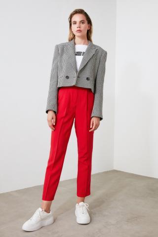 Trendyol Red Basic Pants dámské 36