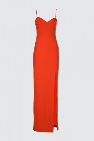 Trendyol Red Collar Detailed Evening Dress & Graduation Dress dámské 36