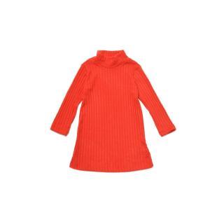 Trendyol Red High Collar Girl Knitted Dress dámské Other 6-7 Y