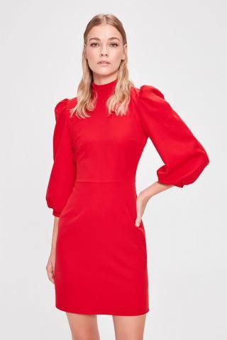 Trendyol Red Tie Dress dámské 34