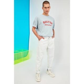 Trendyol Relax Fit Jeans pánské Navy 34