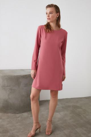 Trendyol Rose Dry Back Detailed Dress dámské 34