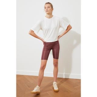 Trendyol Rose Dry Biker Knitted Tights dámské XS