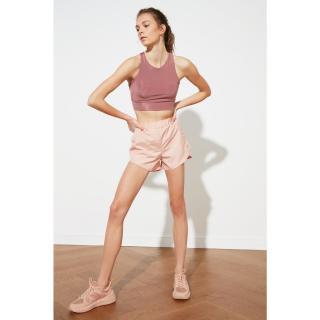 Trendyol Rose Dry Parachute Fabric Sports Shorts dámské XS