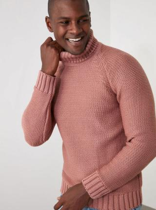 Trendyol ružové pánsky sveter - XL pánské ružová XL